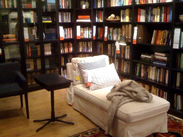 Home library from Ikea.