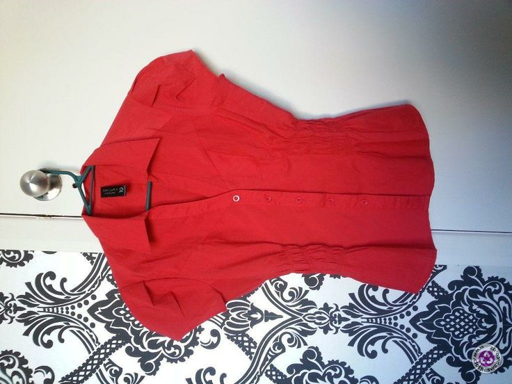 Clotheswap - brand new red blouse