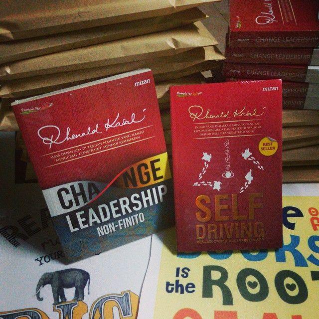 Self Driving & Change Leadership siap untuk dikirim  #selfdriving #CHANGELEADERSHIP