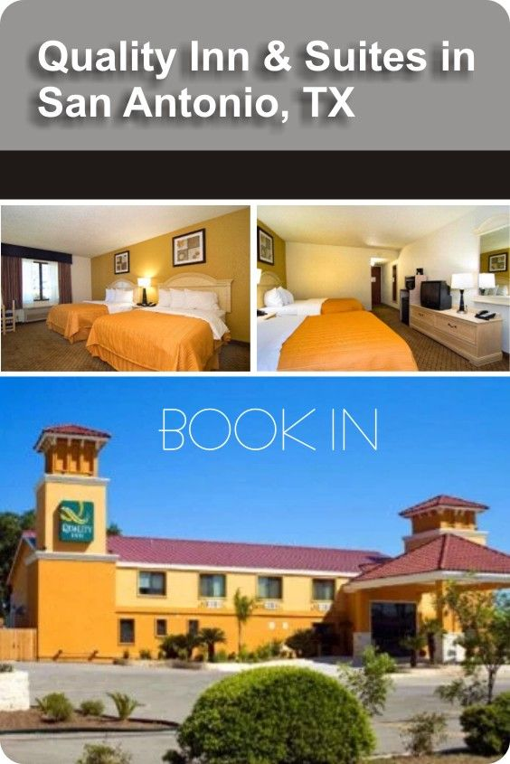 Book the Rooms at Quality Inn hotel in San Antonio on Reviewter.Find and read the reviews of Quality Inn hotel in San Antonio and get the great deals on Reviewter.