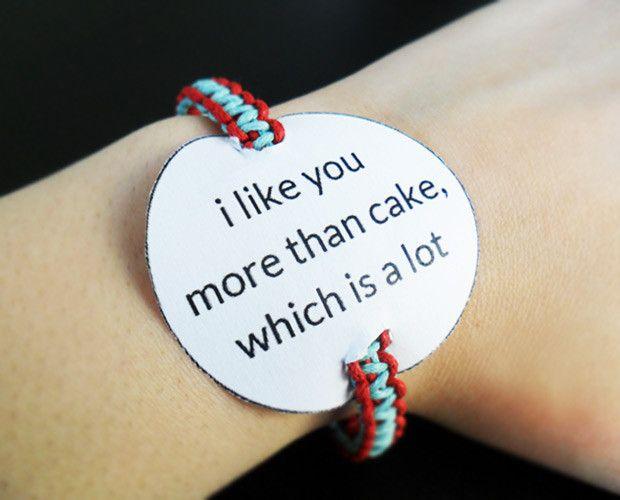 DIY Valentine's Day Craft: How to Make a Friendship Bracelet
