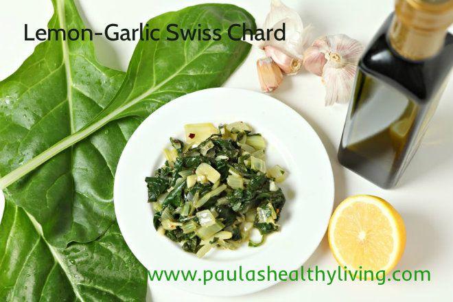 Lemon-Garlic Swiss Chard Recipe