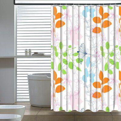 orange floral shower curtain. Elegant Home Fashions Floral Shower Curtain  SC 2796 6 Best 25 shower curtains ideas on Pinterest Bohemian