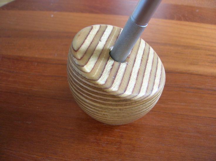 unikat stiftehalter cut egg von treety auf aufbewaren pinterest drechseln. Black Bedroom Furniture Sets. Home Design Ideas