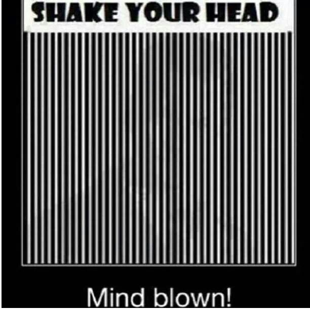 Shake Your Head Illusions Pinterest To Be