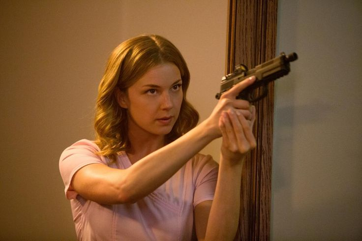 Emily VanCamp as Agent 13 in 'Captain America: The Winter Soldier'Courtesy of Marvel