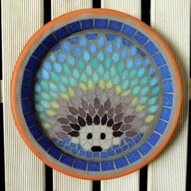 mosaic patterns for birdbaths ile ilgili görsel sonucu