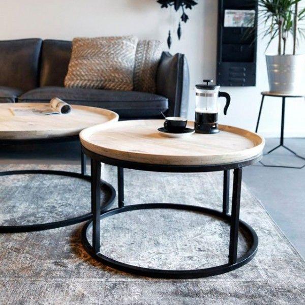 By-Boo Salontafel Solo - 90 cm - By-Boo - Collecties  - Sfeer.nl, meubelen en woonaccessoires