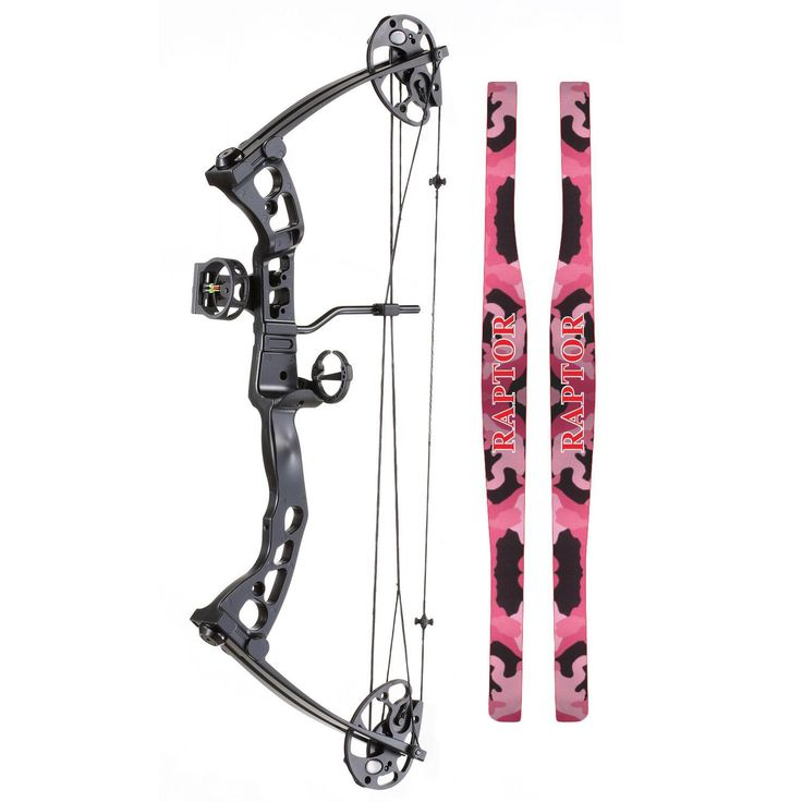 SA Sports R-570 Youth Compound Bow Pink Camo