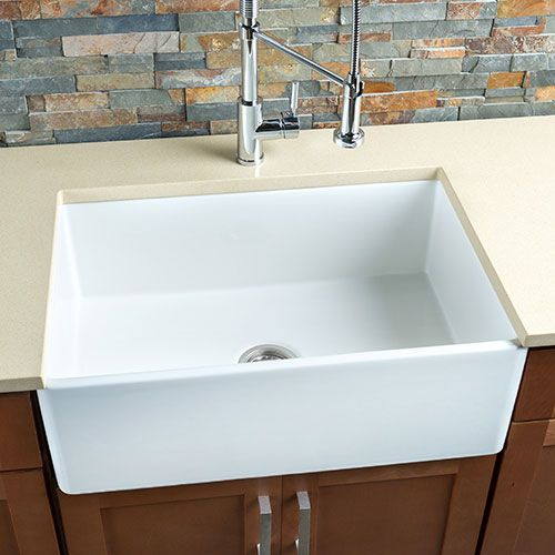 Kitchen Sink Costco : sale at Costco thru 5/31 $640.00 Hahn? Fireclay Single Farmhouse Sink ...