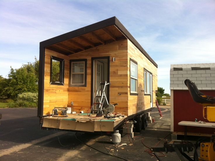 Pallet Wood Siding Www Minimotives Com My Tiny House
