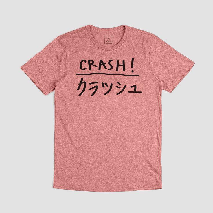 Crash T-shirt from Mamama Paris now on lokalshirt.com