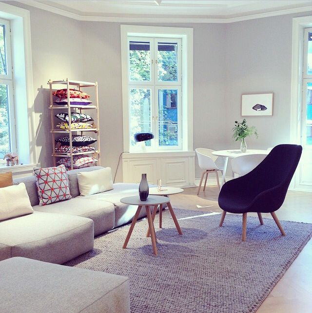Mags soft sofa / peas carpet / AAL92 / CPH coffee table / WH printed cushions