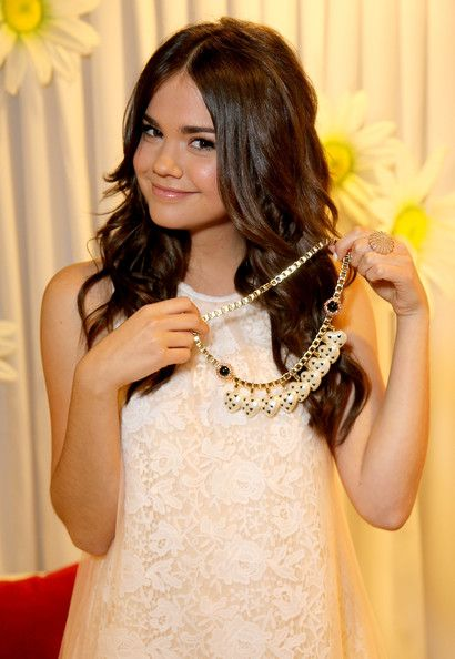 Maia Mitchell ~ Minnie Gifting Lounge At The 2013 Radio Disney Awards