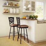 Amisco - Nest Brown Bar and Counter Stool Metal option, only &149, decent reviews from Costco customers