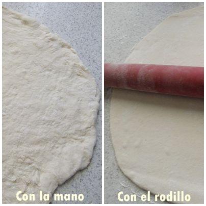Cómo hacer una masa de pizza rápida – lista en 30 minutos | http://www.pizcadesabor.com/2011/09/15/masa-de-pizza-en-1-2-x-3/