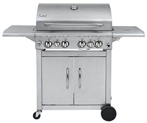 Keansburg Stainless Steel Gas BBQ Grill Compatible with 57cm Grid-in-Grid System