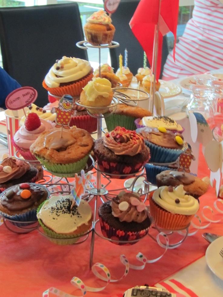 Cup Cakes i mange varianter..