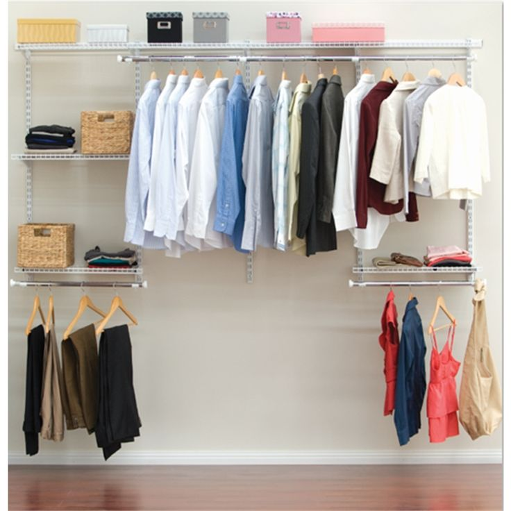 Clever Closet - Large Bedroom #storagespace #expand #home