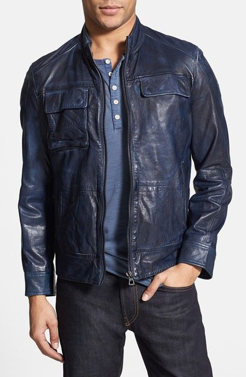 Description Condition : Brand New Material : Available In Cow-Hide Leather only. 100% Pure cow-Hide Leather. Zippers : Only YKK. Zippers with Great finishing. Size Details : S, M, L, XL,XXXL Kindly Refer Size Measurement Chart & Size Guide. Size Query : If you do not...