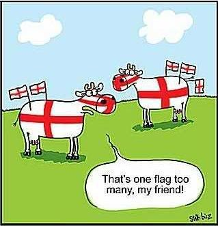 St George's day! (click here, mate!)   England Flags