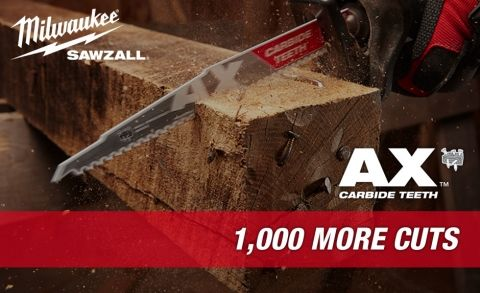 Today we are going to take a look at another type of demo saw blade: The AX SAWZALL Blade with Carbide Teeth made by Milwaukee.  This is a sponsored post in support of The Home Depot ProSpective Campaign. You probably already know that Milwaukee introduced the Sawzall in 1951 and has since expanded their line …