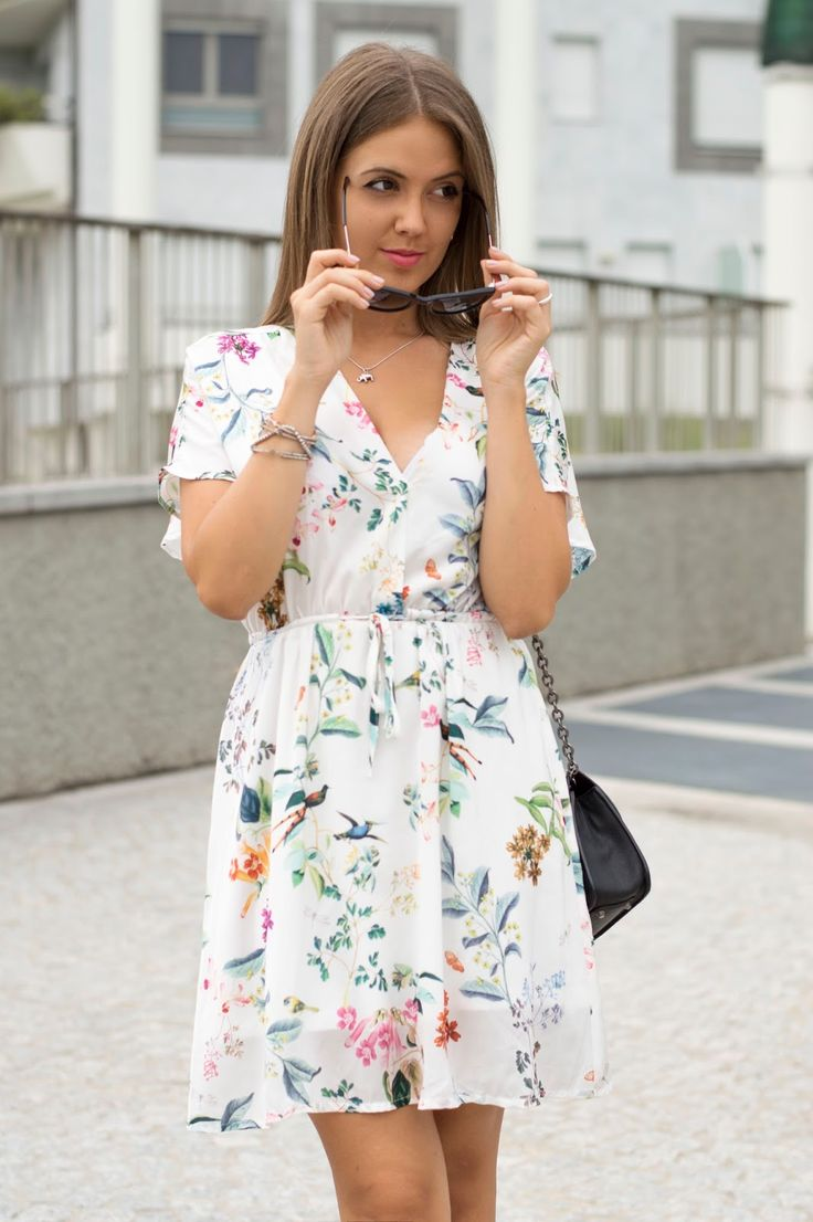 SETTEMBRE CON STAMPE FLOREALI www.ellysa.it  #floralprints #dress #fashionblogger #ootd