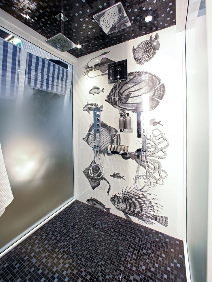 Exhibition @ Equip'Hotel in Paris - by Michele Arndt - Gessi Spa Collection / Tiles by Ceramica Sant'Agostino