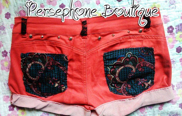 #red #costumizer #make #DIY #short #shorts
