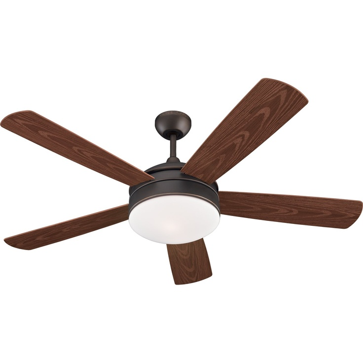 Monte Carlo Fan 5HDR52 2 Light Hydro Energy Star Outdoor Ceiling Fan ...