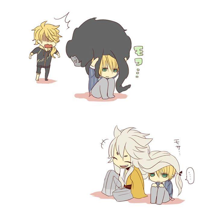 Touken Ranbu ∩(︶▽︶)∩ so cute~