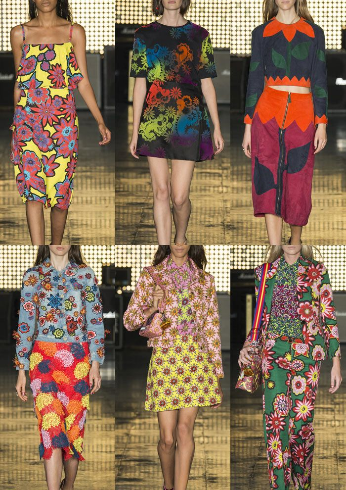 London Womenswear Print Highlights Part 1 – Spring/Summer 2015 catwalks  House of Holland S/S 15
