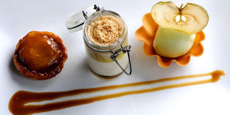 Great British Chef Matthew Tomkinson presents an intricate and delicious recipe for a sweet assiette of apples. Enjoy at an autumnal dinner party