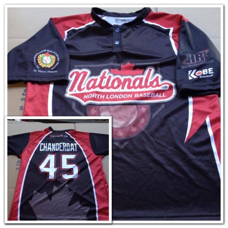 Custom Jersey of the day! #KobeBaseball #Sublimation #Baseball #HomeRunSports
