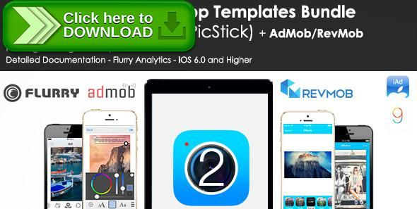 [ThemeForest]Free nulled download iOS Image Editor App Templates Bundle - AdMob/RevMob from http://zippyfile.download/f.php?id=46577 Tags: ecommerce, camera app, camera fx, editing template, image editor ios source code, instagram template, ios effect, iOS Photoeditor Template, iOS9 camera app, no aviary template, photo, photo app, photo editor, Photo Editor Source Code, photo fx, picture app