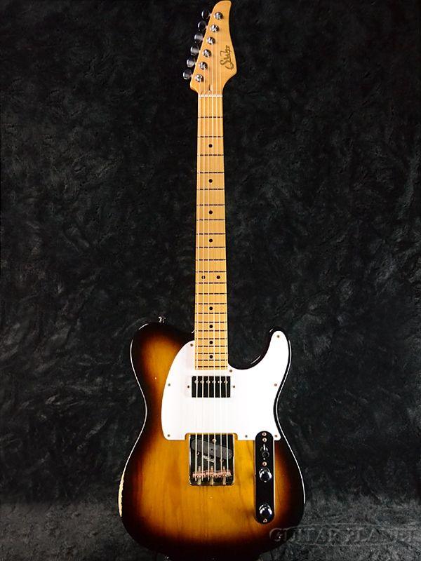 Suhr Classic T Antique Pro -2 Tone Tobacco Burst- 新品[サー][タバコサンバースト][Humbucker,ハムバッカー][エイジド加工][Telecaster,TL,テレキャスタータイプ][Electric Guitar,エレキギター]