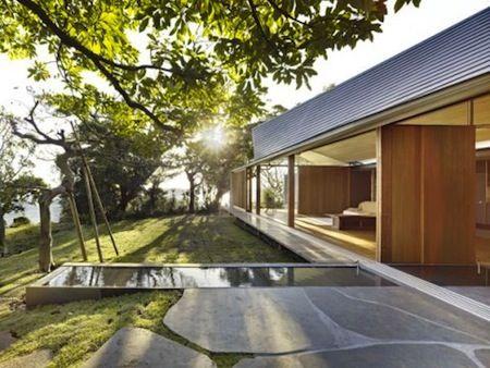 Les 36 meilleures images du tableau maisons id es for Architecture japonaise contemporaine