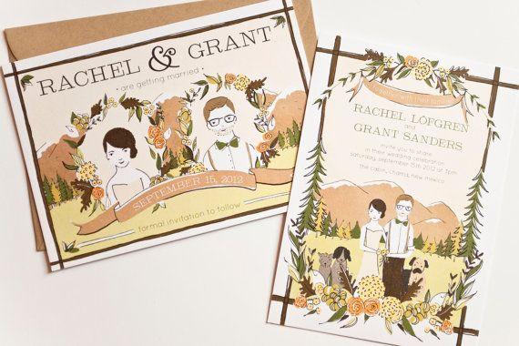 Illustrated Wedding Invitations: Best 25+ Illustrated Wedding Invitations Ideas On Pinterest