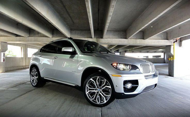 "BMW X6 на 21"" дисках Replica B 375"