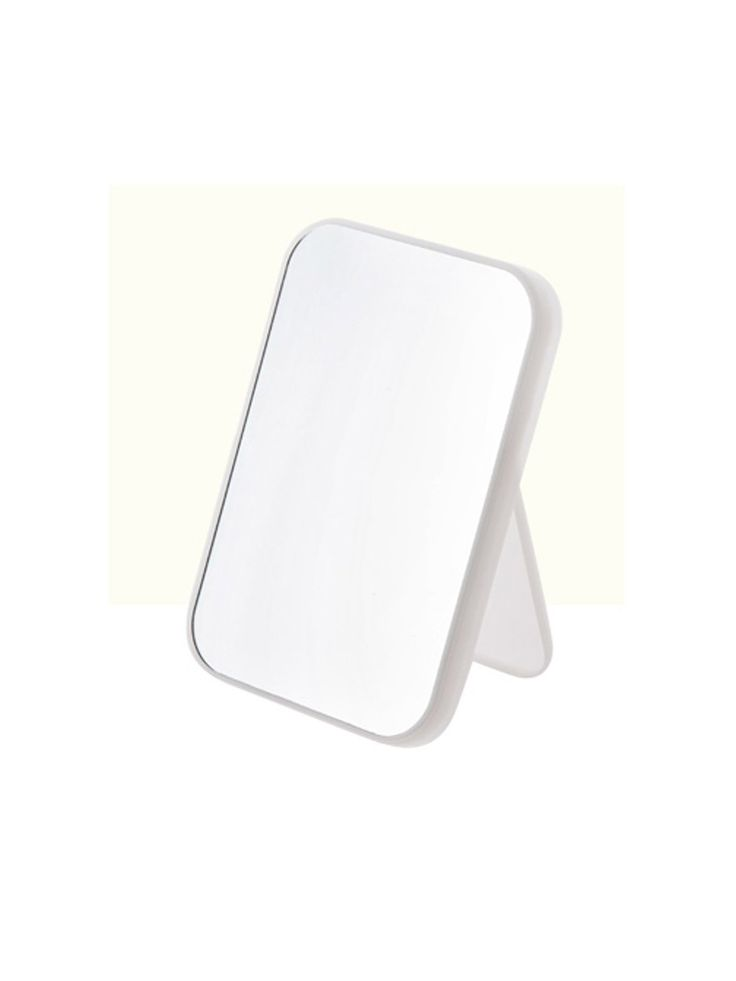 """WJL Tabletop Vanity Makeup Mirror,Compact Travel Makeup Mirror, Portable Folding Cosmetic Mirror. WJL tabletop HD makeup mirror totally can meet the daily needs. Size: 21.8cm(8.28"""")*15cm(5.7"""")*2cm(0.76""""),great size to display a clean reflection. Material: ABS+glass,Please feel free to contact us if you receive a broken one. Angle setting: A variety of angles can be set to meet different needs.Perfect for a tabletop, bathroom, desk, bedroom, countertop, dresser and more. Please note: the..."""