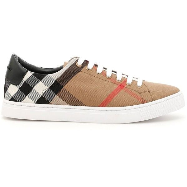 Albert Sneakers (1.100 BRL) ❤ liked on Polyvore featuring men's fashion, men's shoes, men's sneakers, burberry mens sneakers, burberry mens shoes, mens rubber sole shoes and mens canvas sneakers