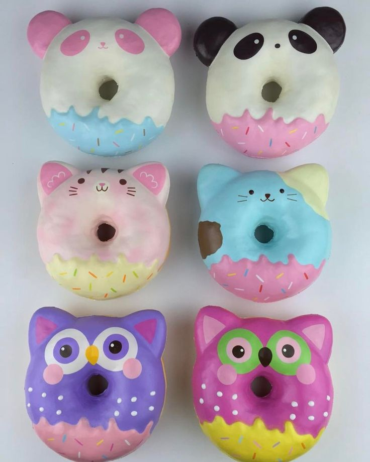 Squishy Donuts Kawaii : Best 25+ Squishy kawaii ideas on Pinterest Squishies, Cute squishies and Animal squishies