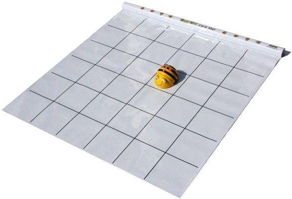 Bee bot Learning Station - 1 Bee Bot robot and a blank mat.
