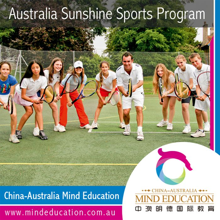 Australia Sunshine Sports Program Study in mainstream schools in Australia; get engaged in sports activities; participate in overnight camping; experience Dream World Theme Park; Visit three famous cities in Australia.  Visit China-Australia Mind Education for more information at http://mindeducation.com.au/ For enquiries, please send an email to china-australia@mindeducation.com.au. #study #travel #australia