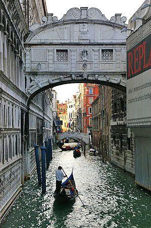 Venise palais des Dodges et pont des soupirs visite photos informations