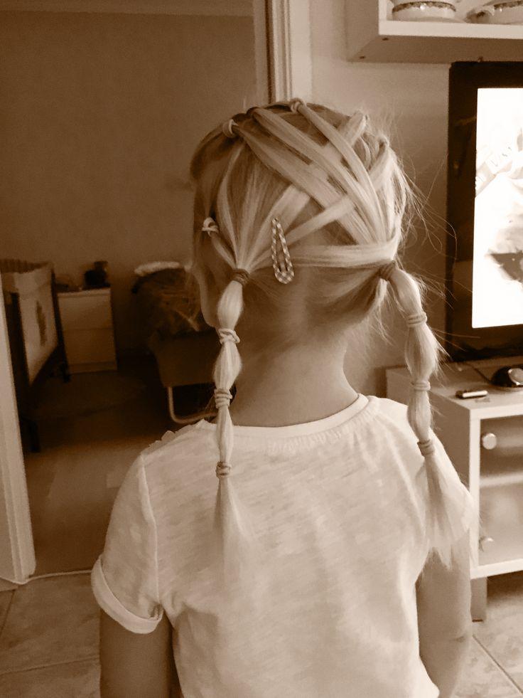 Fin variant av flätat hår.