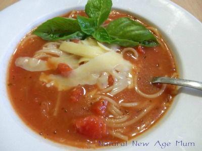 Tomato Noodle Soup