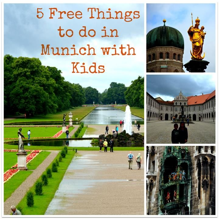5 Free Things to do in Munich with Kids...I'm a kid, right?