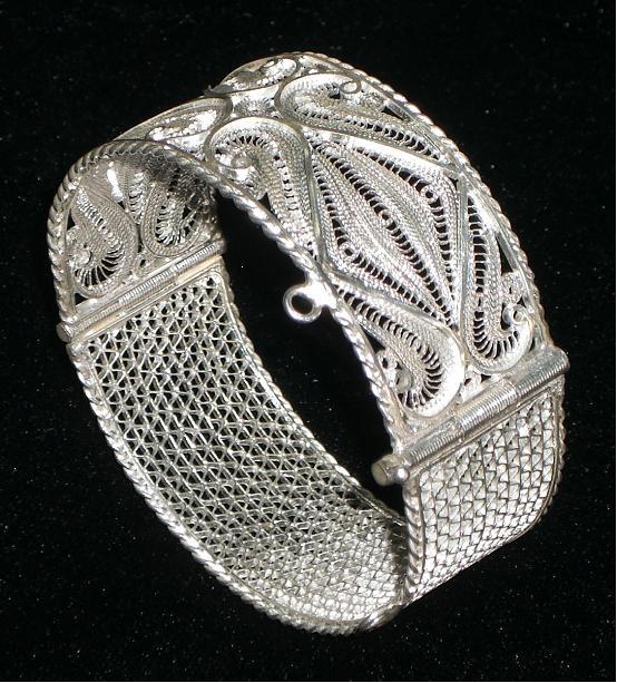filigree (terkâri) jewelry