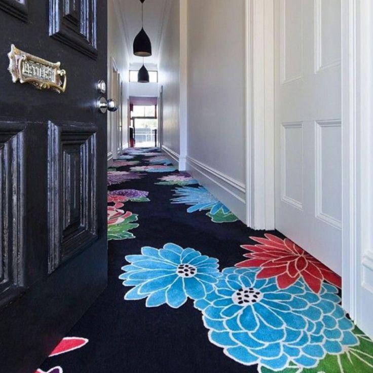 Bespoke carved carpet ❤️